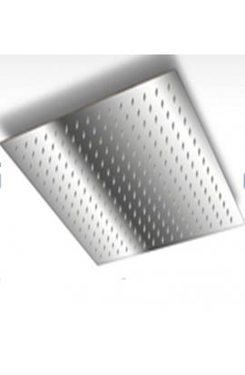 Edelstahl Duschkopf quadratisch 250 x 250 mm